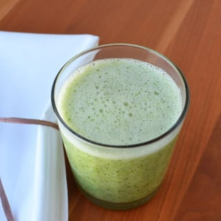 How To Make An Awesome Kale Apple Smoothie - 24 Carrot Kitchen