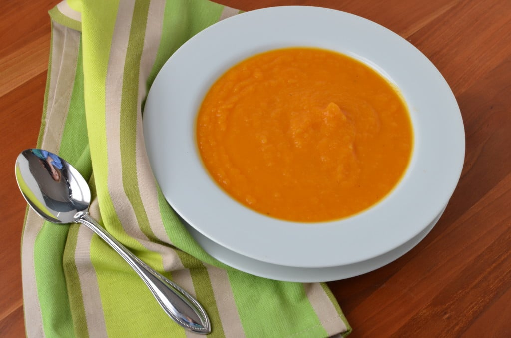 Butternut Squash and Apple Soup/24 Carrot Kitchen