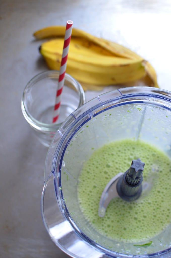 Green Detox Smoothie in Blender - 24 Carrot Kitchen