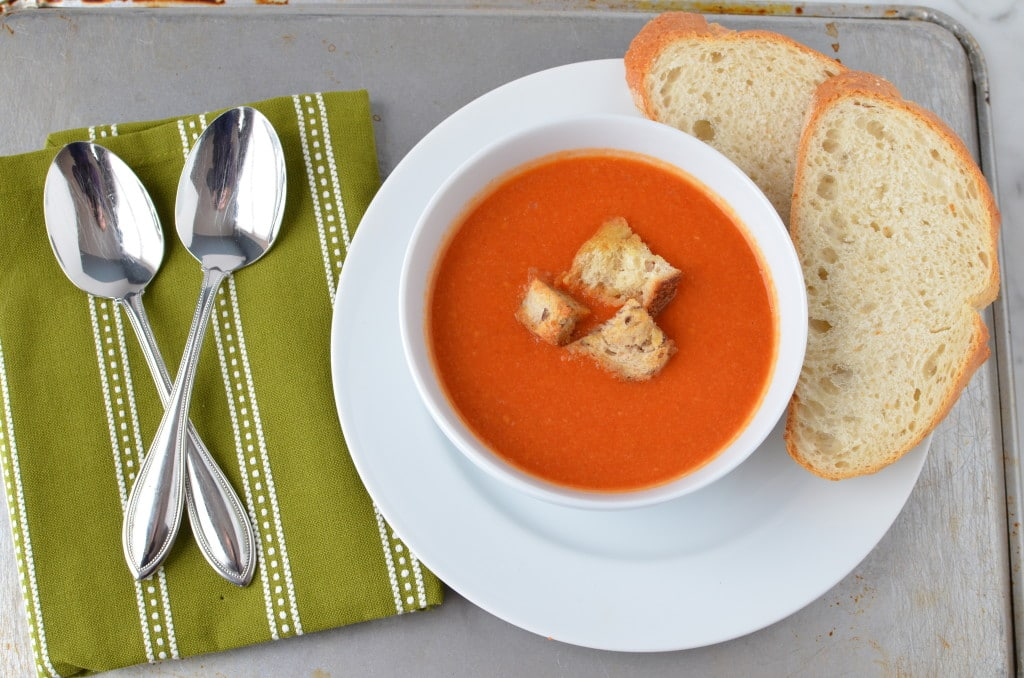 Creamless Tomato Soup/24 Carrot Kitchen