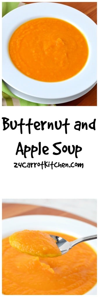 Butternut Squash and Apple Soup - 24 Carrot Kitchen