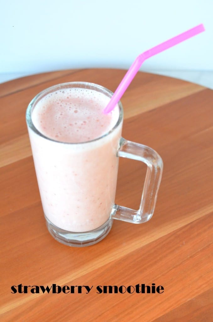 Delicious Vegan Strawberry Smoothie