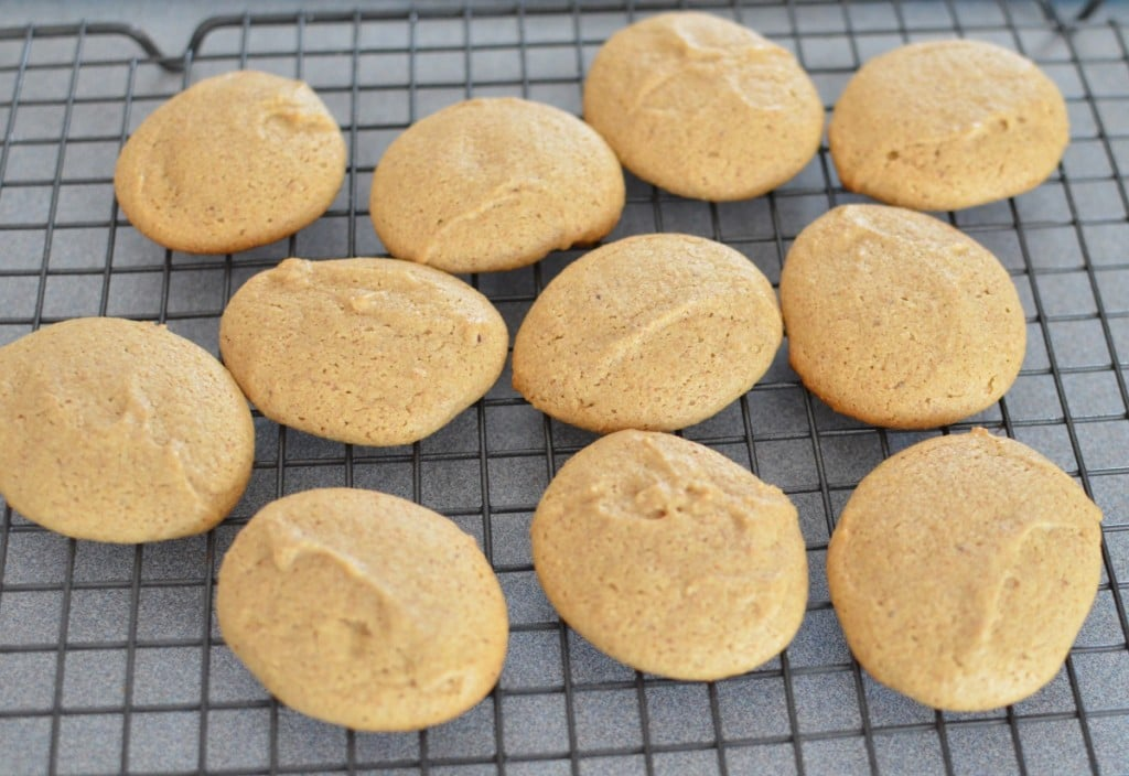 Almond Cookies on cooling rack - 24 Carrot Kitchen