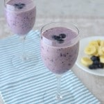 Blueberry Pineapple Smoothie - 24 Carrot Kitchen