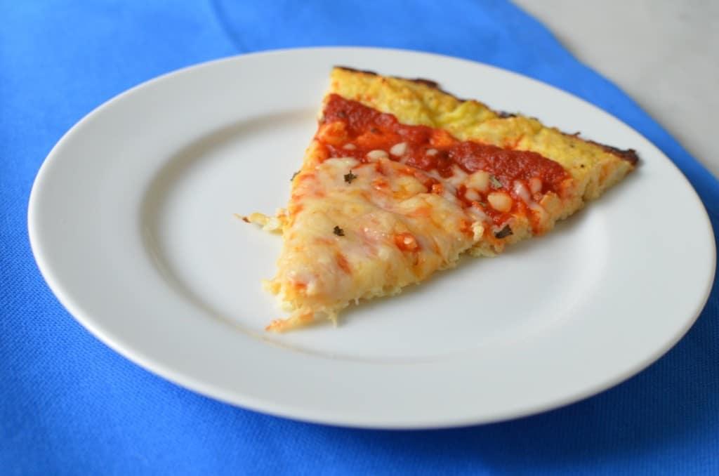 Cauliflower Crust Pizza/24 Carrot Kitchen