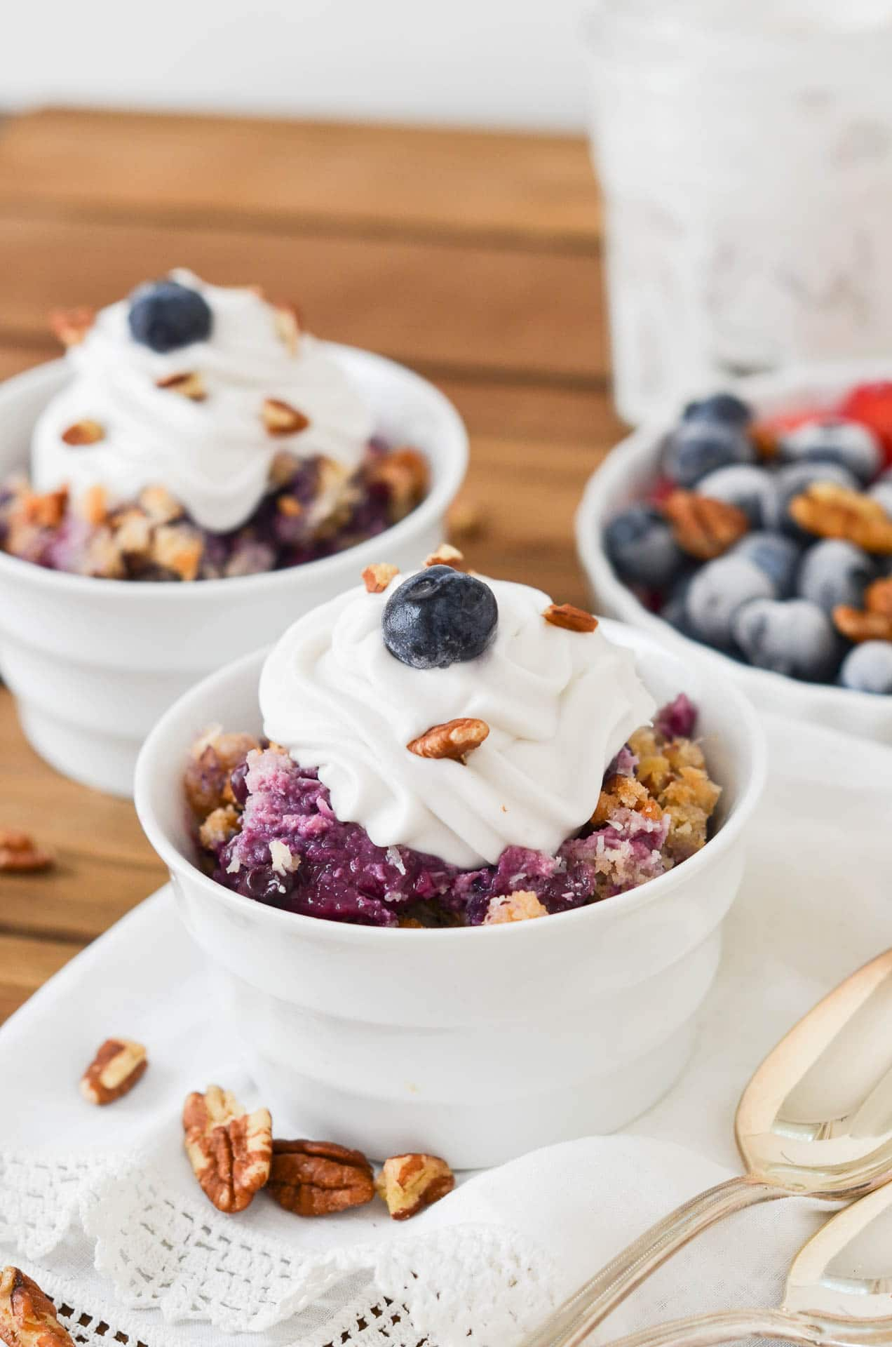 How To Make An Amazing Peach Blueberry Crumble 24