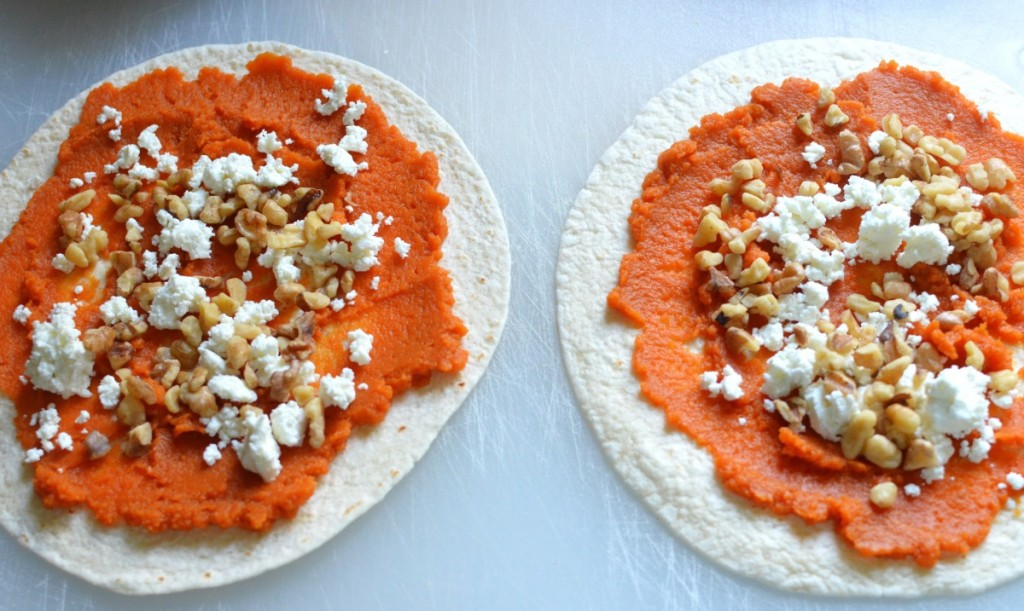 Pumpkin Quesadillas/24 Carrot Kitchen