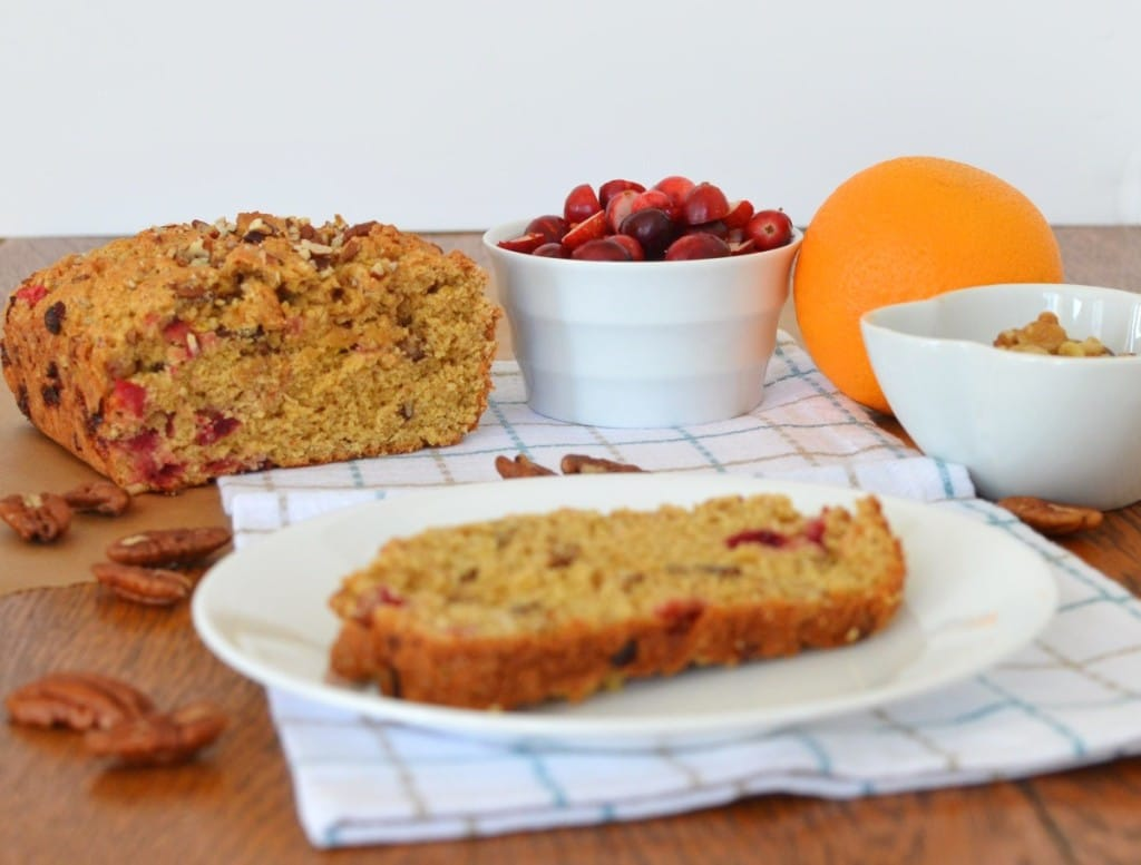 Cranberry Orange Nut Bread/24 Carrot Kitchen