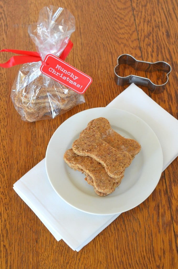 Peanut Butter Dog Treats/24 Carrot Kitchen