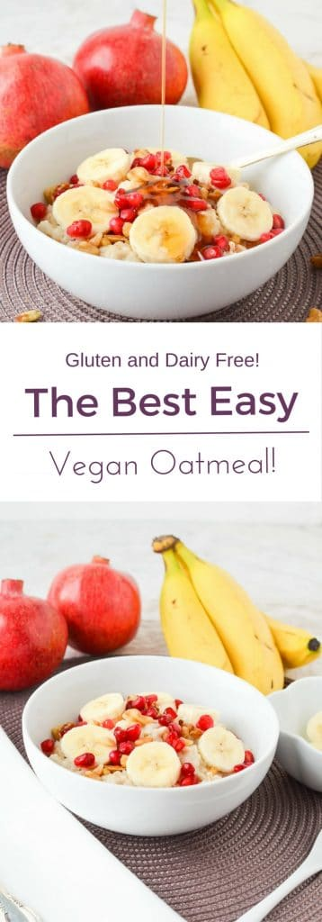 Vegan Oatmeal PIN - 24 Carrot Kitchen