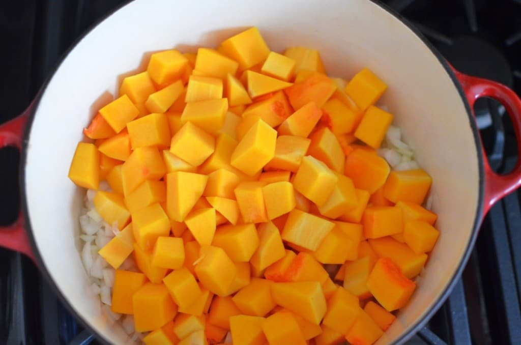 Butternut Squash Adzuki Soup/24 Carrot Kitchen