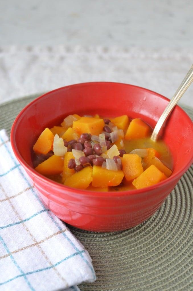 Butternut Squash Adzuki Soup/24 Carrot Kitchen