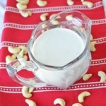 Cashew Cream in glass pitcher - 24 Carrot Kitchen
