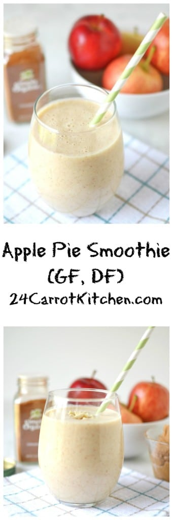 Apple Pie Smoothie - 24 Carrot Kitchen