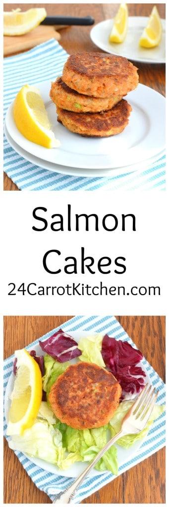 Salmon Cakes - 24 Carrot Kitchen