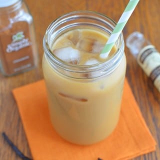 Cinnamon Iced Coffee