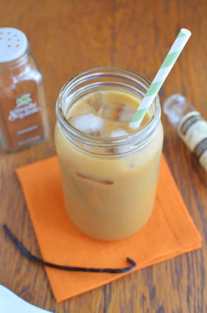 Cinnamon Iced Coffee/24 Carrot Kitchen