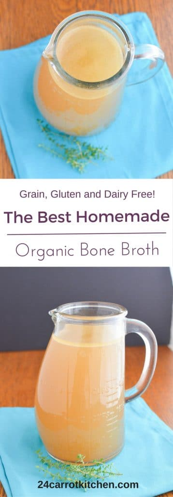 Organic Bone Broth PIN - 24 Carrot Kitchen