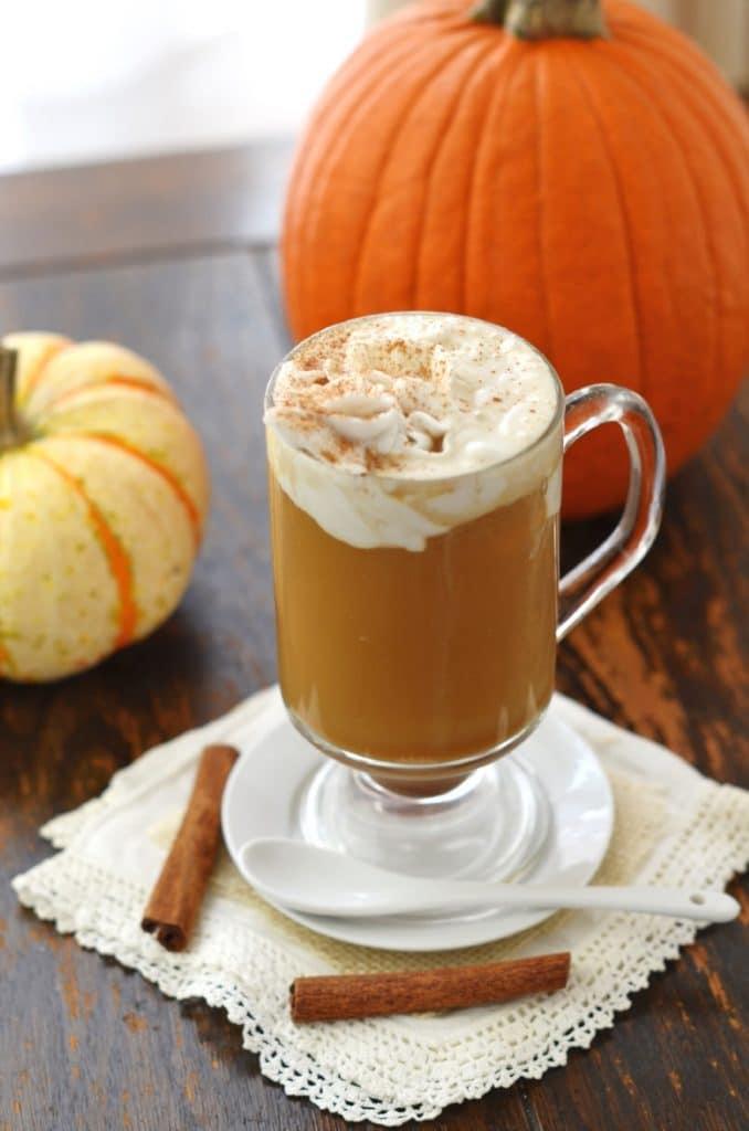Pumpkin Spice Latte - 24 Carrot Kitchen