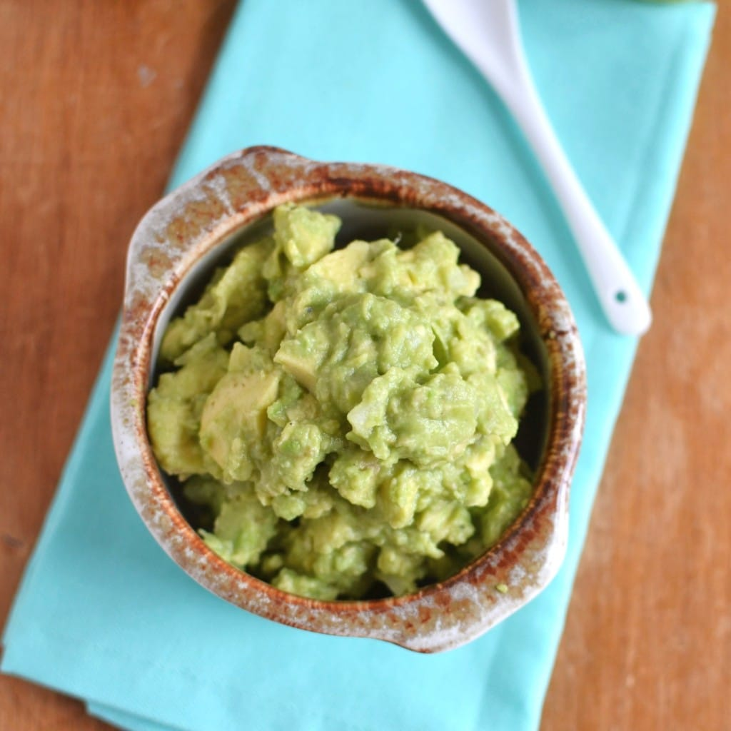 Easy Guacamole - 24 Carrot Kitchen