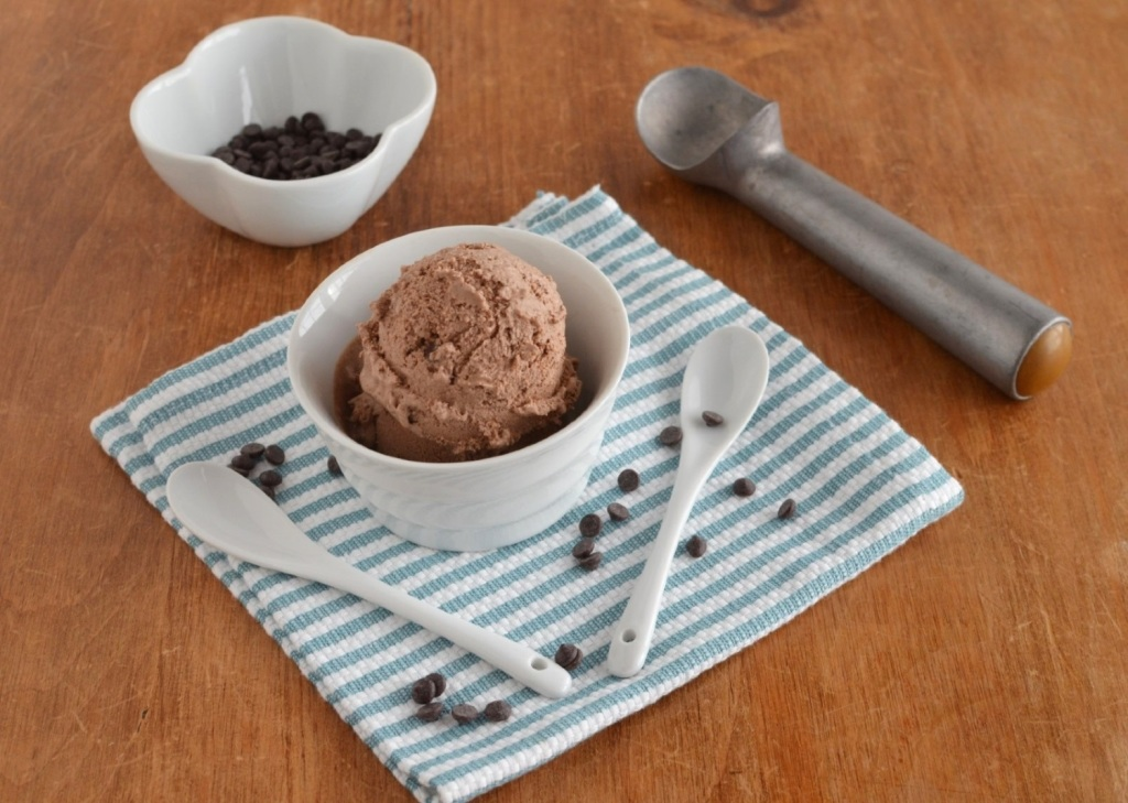 Chocolate Coconut Milk Ice Cream - 24 Carrot Kitchen