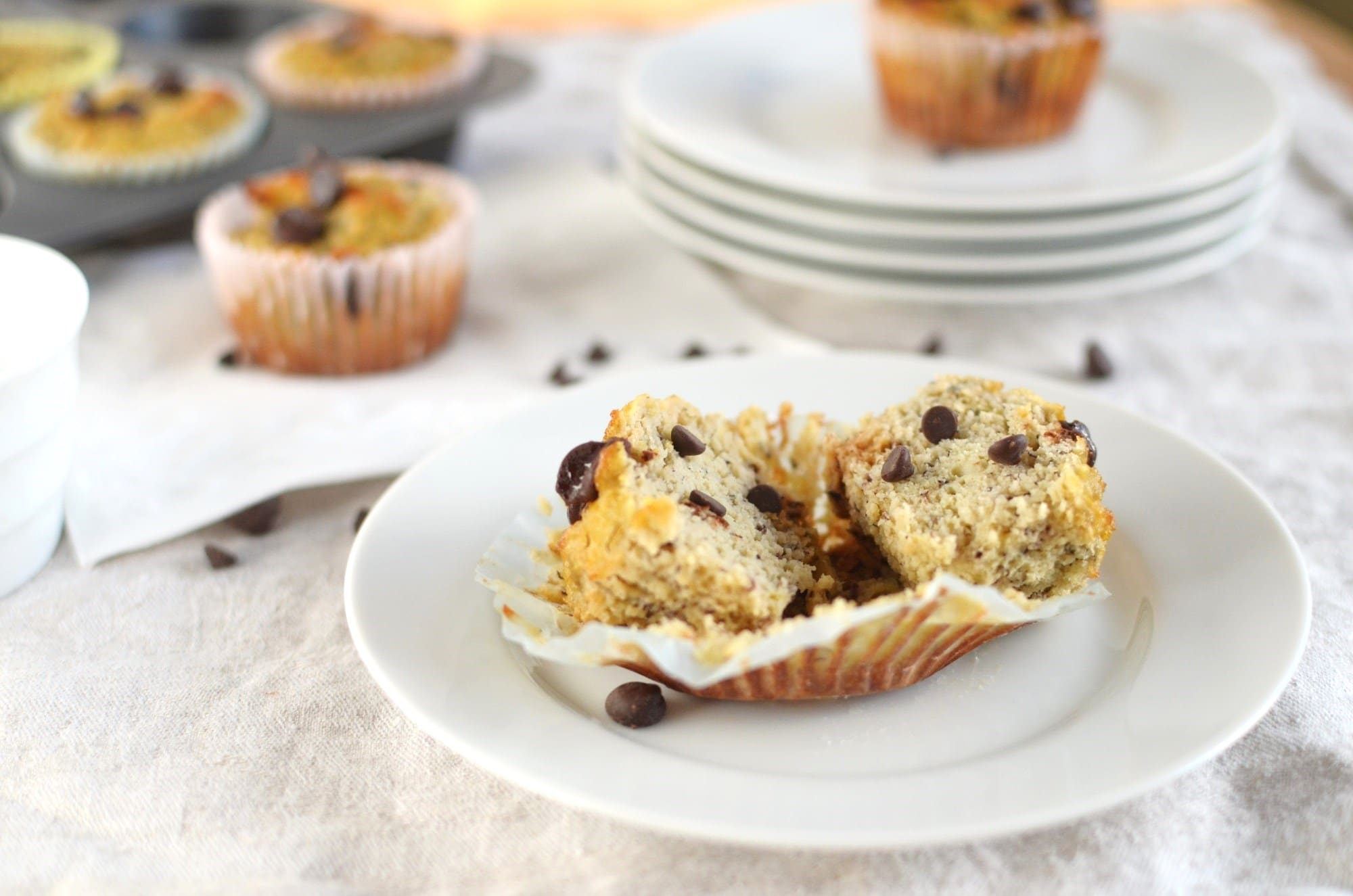 ... flours to work with. And these muffins, oh my, they are so delicious