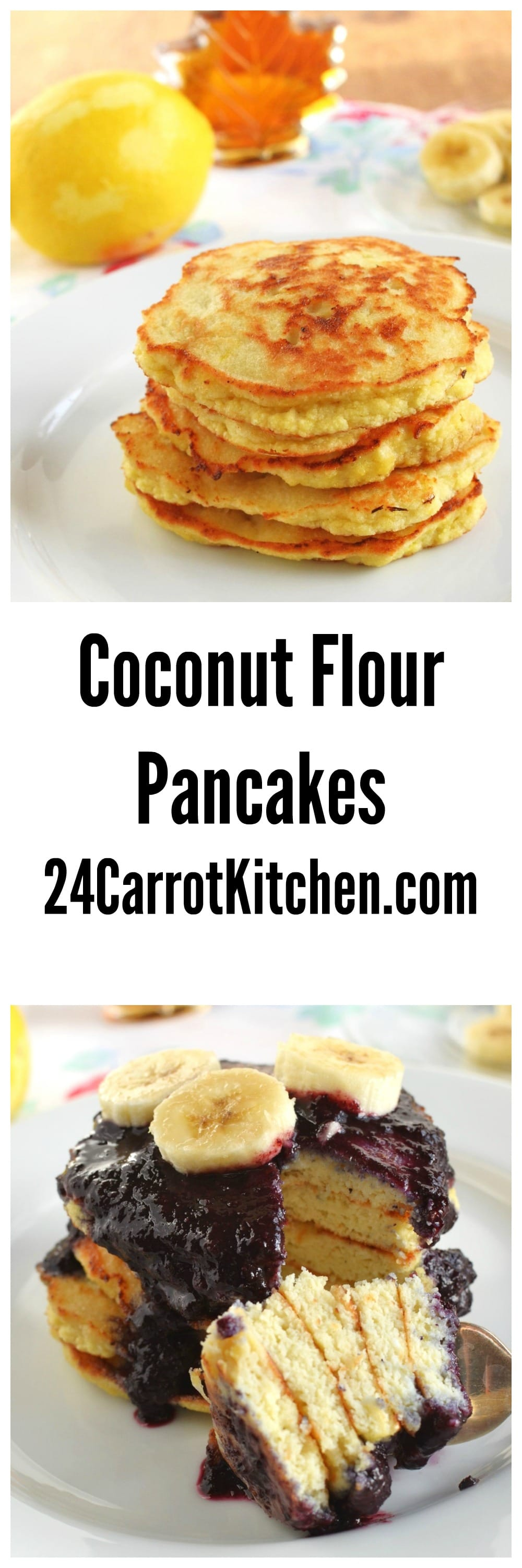how to make pancakes qith coconut flour