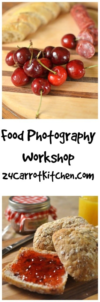 Food Photography Workshop - My Experience with a One Day Photography Class - 24 Carrot Kitchen