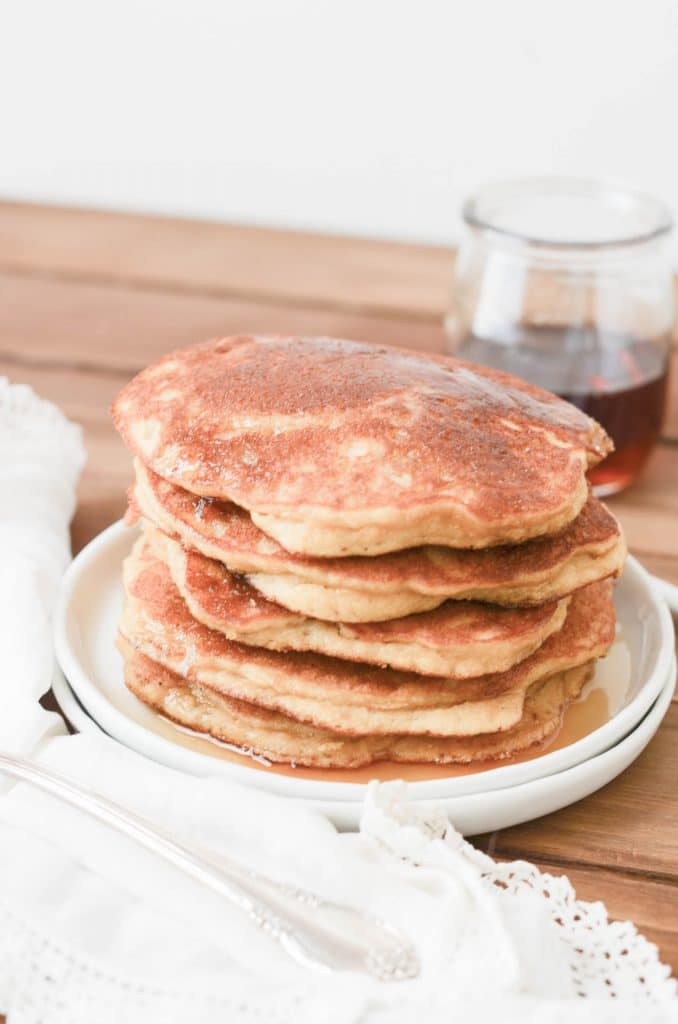 Paleo Coconut Flour Pancakes - 24 Carrot Kitchen