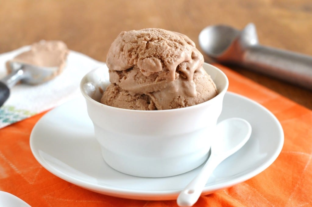 Chocolate Banana Ice Cream - 24 Carrot Kitchen