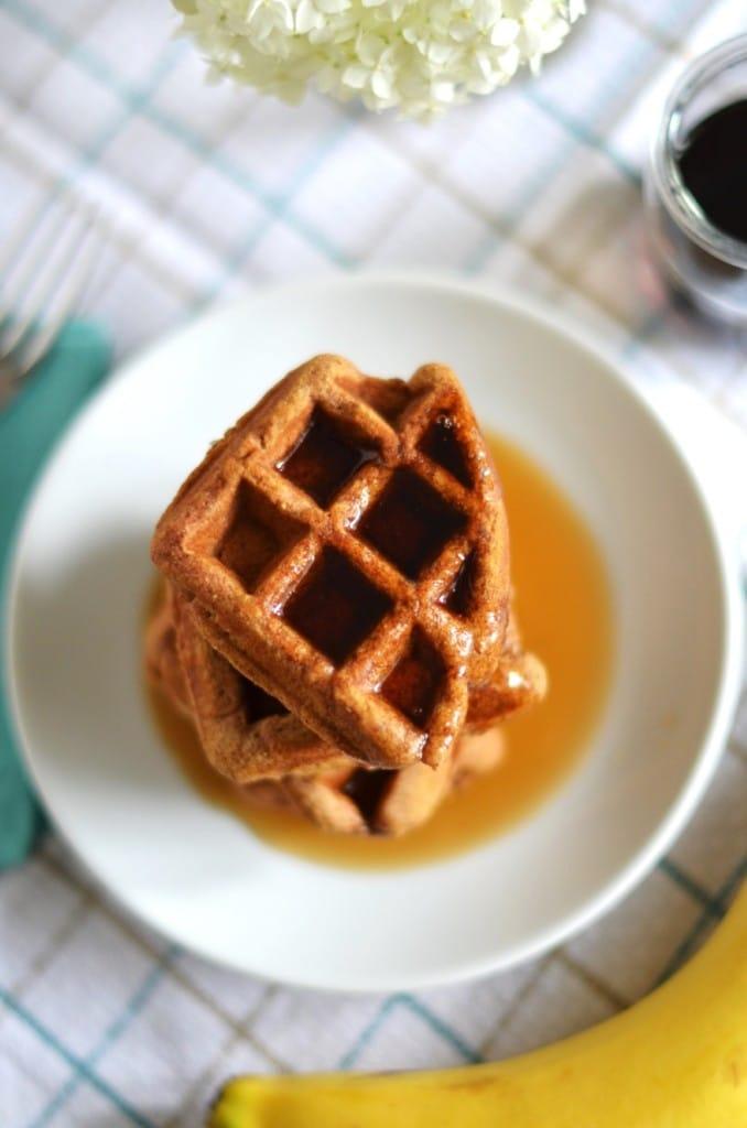 Pumpkin Waffles - 24 Carrot Kitchen