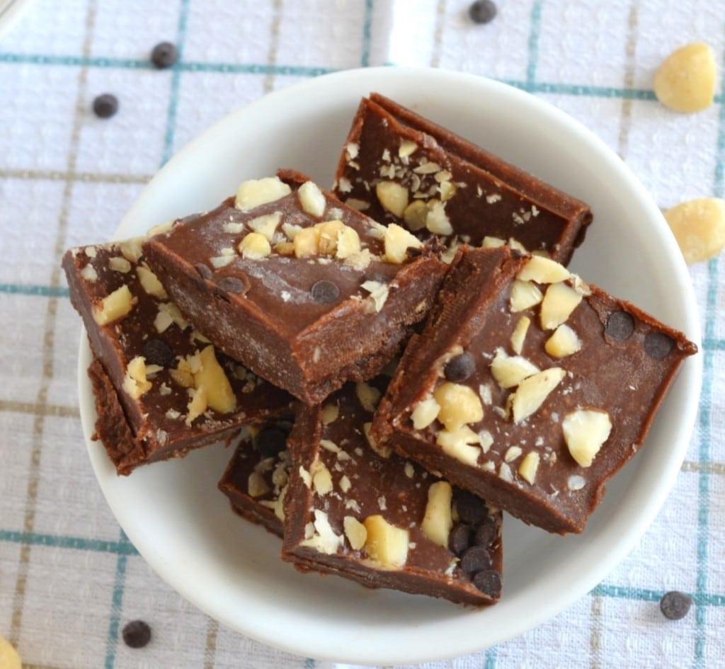 Paleo Nut Butter Fudge - 24 Carrot Kitchen