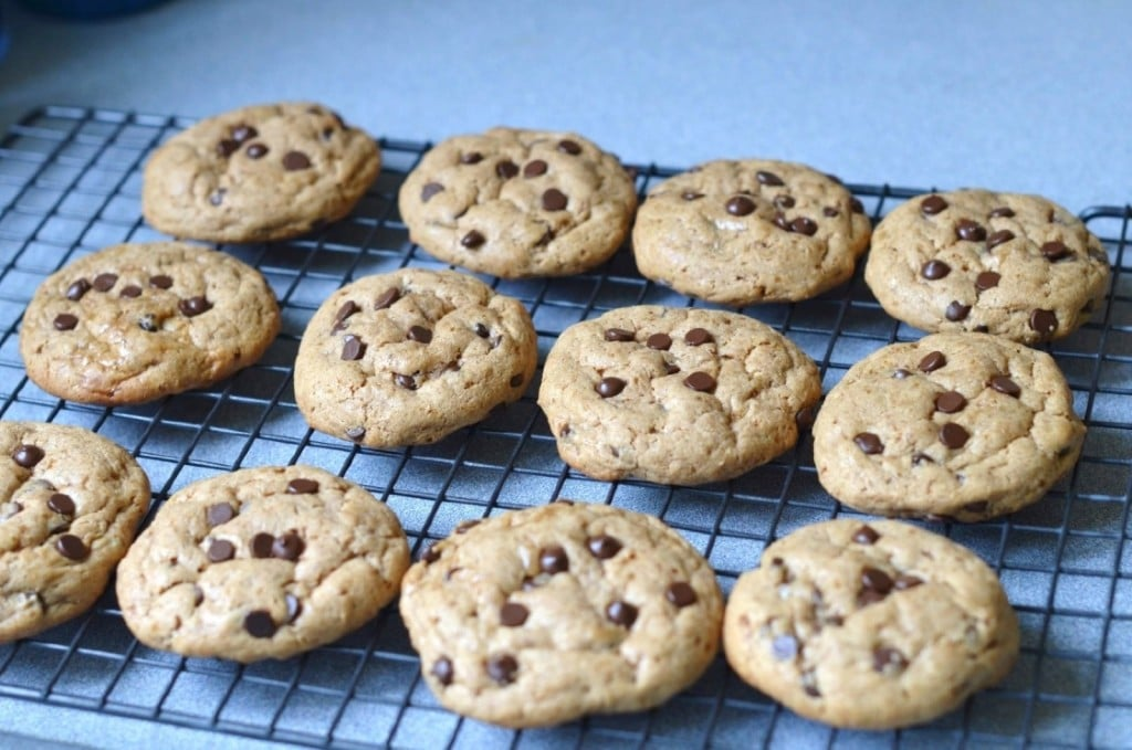 Dairy Free Chocolate Chip Cookies - 24 Carrot Kitchen