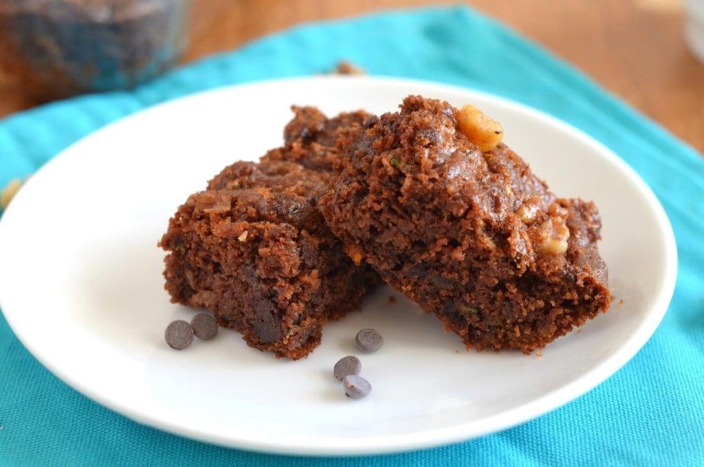Zucchini Brownies - 24 Carrot Kitchen
