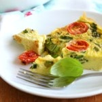 Summer Veggie Fritatta - 24 Carrot Kitchen