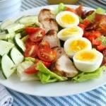 Grilled Chicken Cobb Salad - 24 Carrot Kitchen