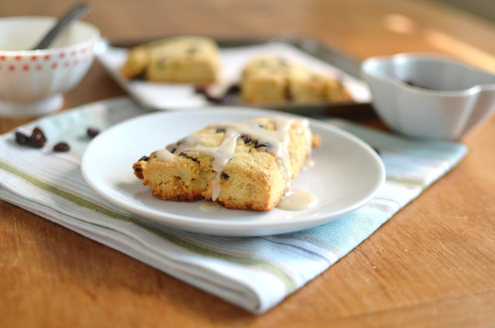 The BEST Cinnamon Raisin Gluten Free Scones - So Easy! - 24 Carrot ...