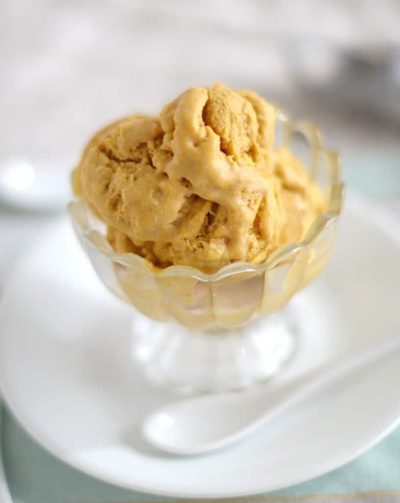 Pumpkin Ice Cream - 24 Carrot Kitchen