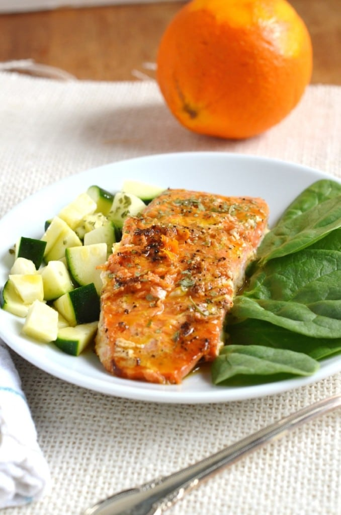 Orange Glazed Salmon - 24 Carrot Kitchen