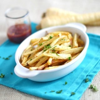 Parsnip Fries - 24 Carrot Kitchen - EASY prep, veggie alternative to spuds!