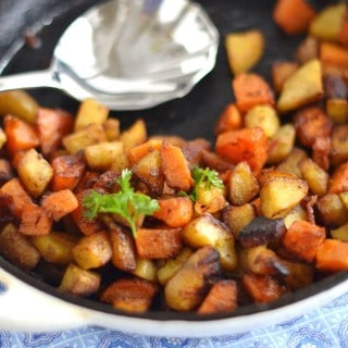 Sweet Potato Hash - Grain, gluten and dairy free! 24 Carrot Kitchen