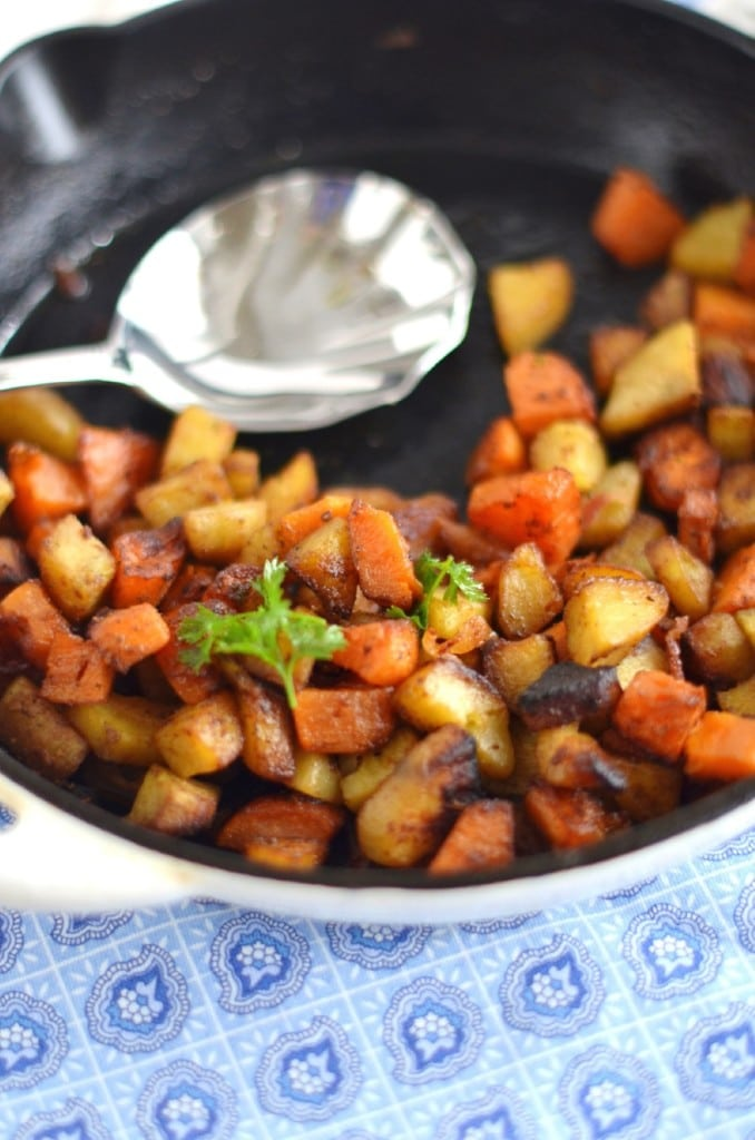 Paleo Sweet Potato Hash - 24 Carrot Kitchen