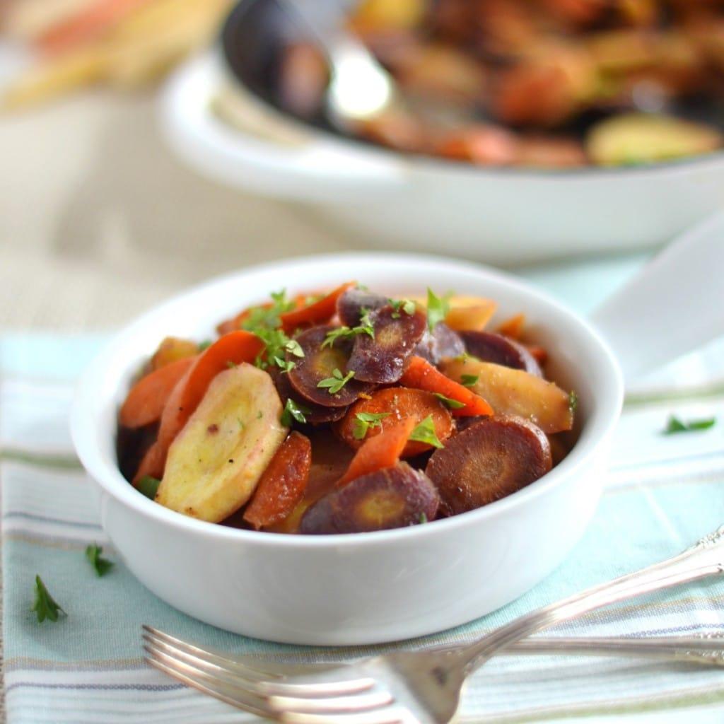 Orange Ginger Glazed Carrots and Parsnips - 24 Carrot Kitchen