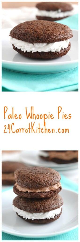 Paleo Whoopie Pies - 24 Carrot Kitchen