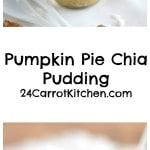 Pumpkin Pie Chia Pudding - 24 Carrot Kitchen