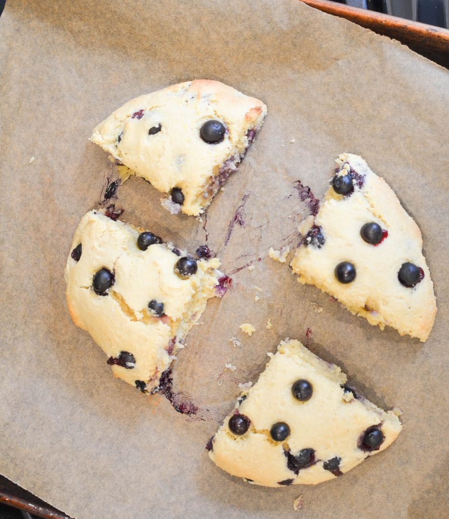 Gluten Free Blueberry Scones - 24 Carrot Kitchen