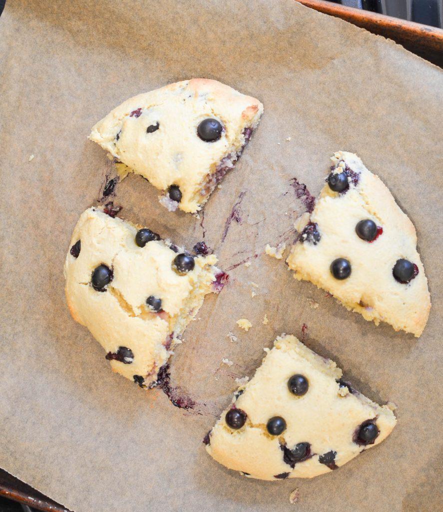 Gluten Free Blueberry Scones - 24 Carrot Kitchen