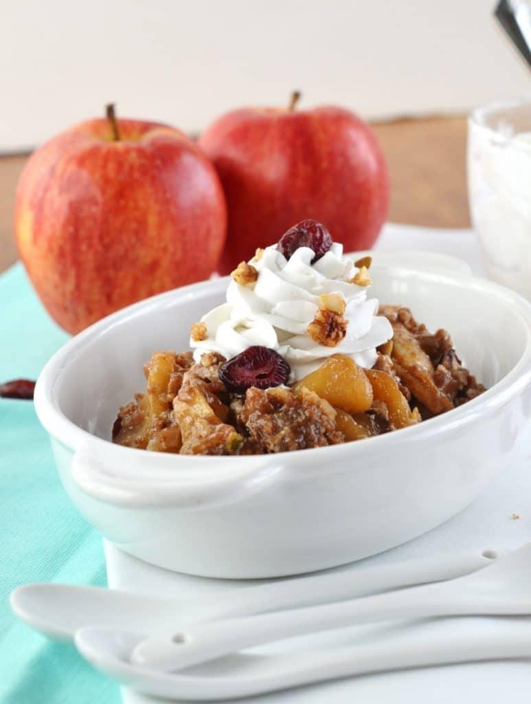 Paleo Apple Crisp - 24 Carrot Kitchen