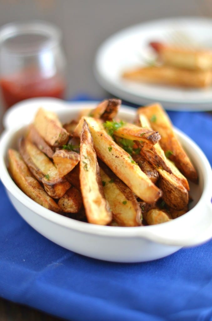 Roasted Rosemary Russet Potato Wedges -24 Carrot Kitchen