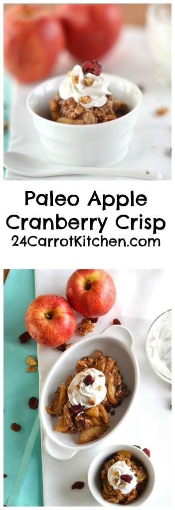 Paleo Cranberry Nut Granola - 24 Carrot Kitchen